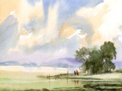 'Waters Edge, Rivington' by Colin Callan