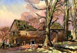 The Old Barn Rivington by Colin Callon