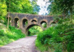 Seven Arch Bridge, Oriental Gardens, Rivington