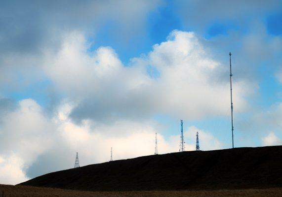 Tv Mast From Belmont Road Tv Mast From Belmont Road