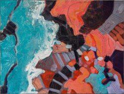 'Aerial View V, Coral Coast' by Gerry Halpin MBE PPMAFA