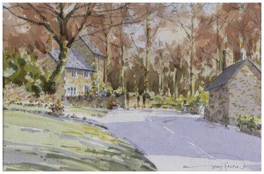 'Autumn Afternoon, Rivington Village' by Gerry Halpin