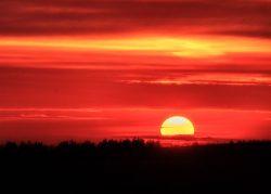'Lancashie Sundown' by David Ruaux
