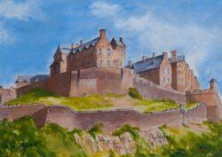 'Edinburgh Castle' print by Morton Murray