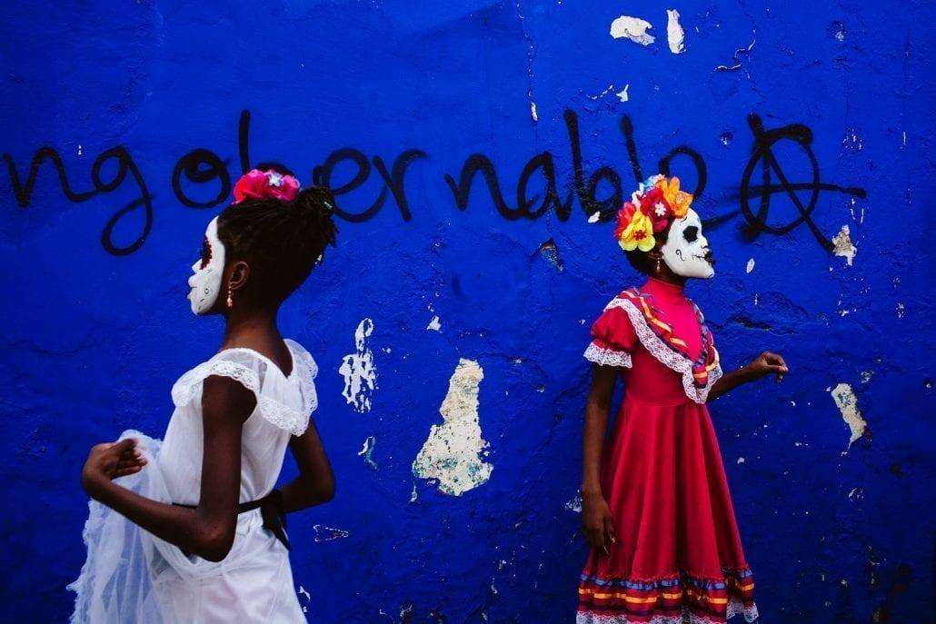 'Opposite, Oaxaca City' by Adam Riley