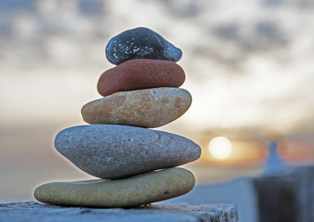 'Stepping Stones' by Deborah Longworth