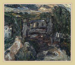 'Skew Bridge, Todmorden with Cottage' by Barry De More