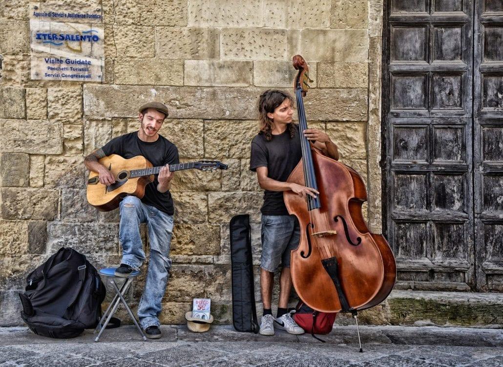 'Street Musicians - Italy' by David Butler