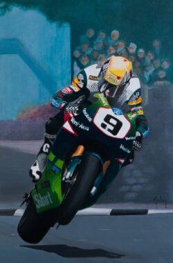 'Ian Lougher - TT Winner' by Morton Murray