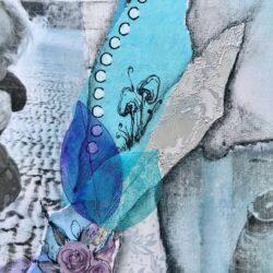 'Seren' Memory Art by Kylie Dixon -detail