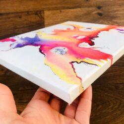 'Volcanic Spore' by Kylie Dixon - corner detail