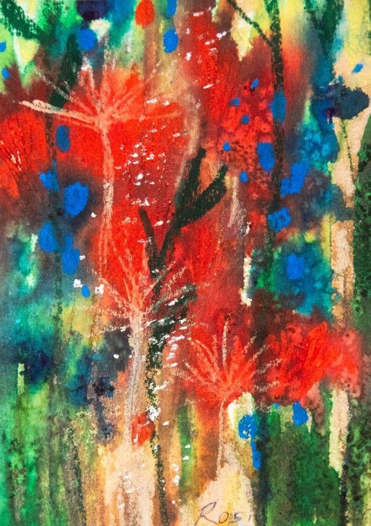 'Tulip Outburst' Fine Art Prints by Rosie Rimmer