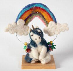 'Unicorn' by Jane Franklin - close up