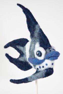 'Blue Fish' by Jane Franklin