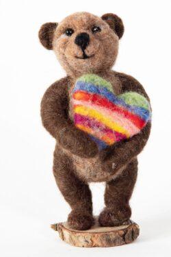 'Heartfelt Bear' by Jane Franklin