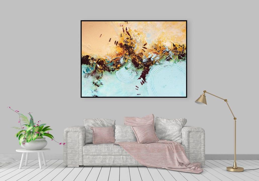Gerry Halpin Framed Canvas Print