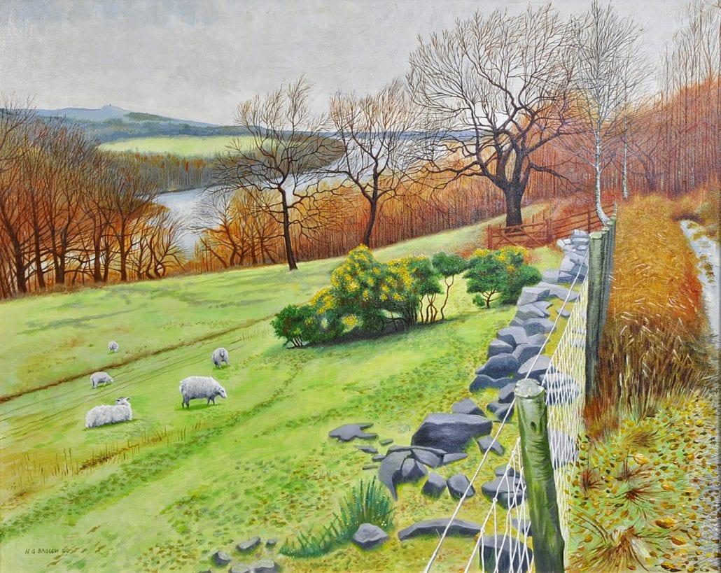 'Rivington Pike Across Anglezarke Reservoir' by Neil Baglow