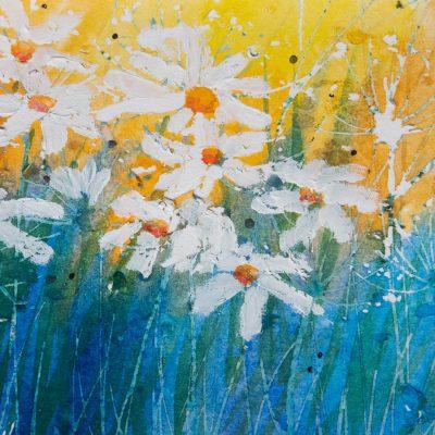 'Dancing Daisies' by Rosie Rimmer