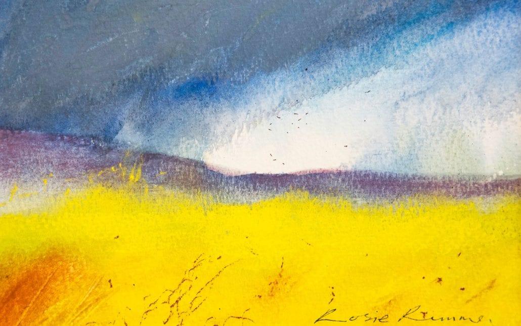 'Stormy Moor' Fine Art Prints by Rosie Rimmer