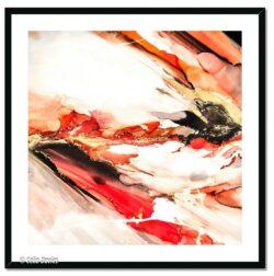 'El Fuego 2' a framed fine art print by Celia Davies
