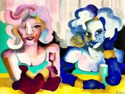'Glamour Girls' by Karen Wise