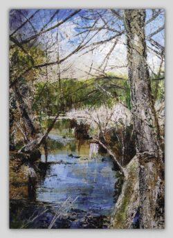 River Lostock Canvas Print