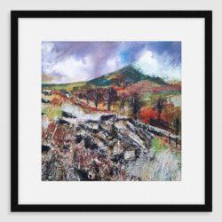 'Rocky Outcrop' Framed fine art print by Pat Richardson
