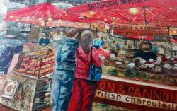 'Borough Market, by Pat Richardson