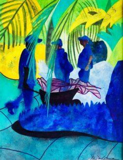 'Gardeners at Work' by Karen Wise