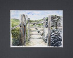 'Island Gateway' prints by Helen Worthington