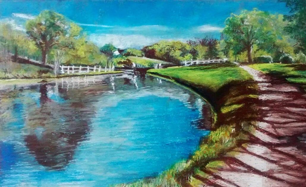 'Johnson's Hillock Locks' by Pat Richardson