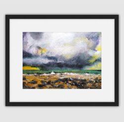 'Storm Rolling In' Framed fine art print by Pat Richardson