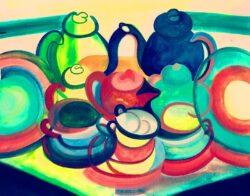 'Tea Set' by Karen Wise