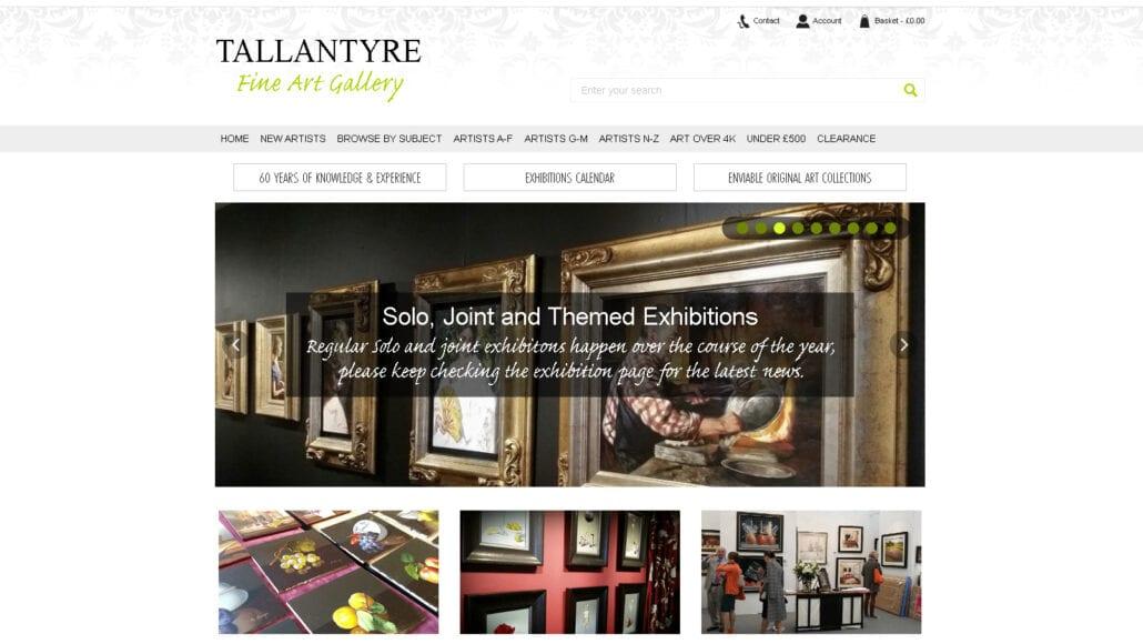 Gerry Halpin at the Tallantyre Gallery