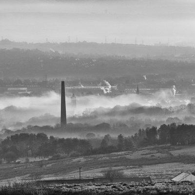 'Winter Hill Over Bolton, December' by David Ruaux