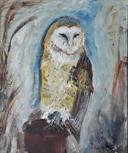 'Barn Owl' by Pamela Wakefield