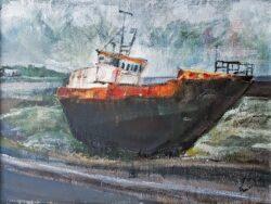 'Rusty Old Boat' by Pamela Wakefield