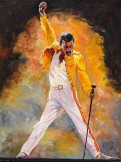 'Freddie!' by Chris Rowe