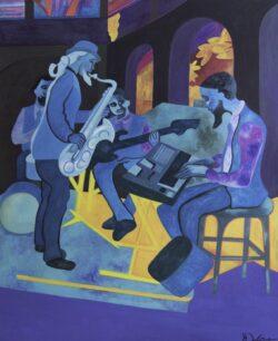 'Jazz Blues' by Karen Wise