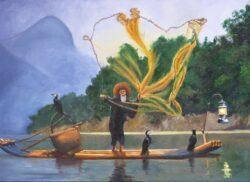 'Guelin Fisherman' by Chris Rowe
