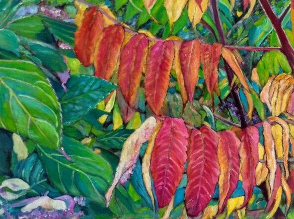 'Leaflines' by Suzi Stephens
