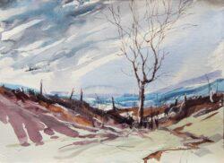 'Moorland Bare Tree 1' by Gerry Halpin