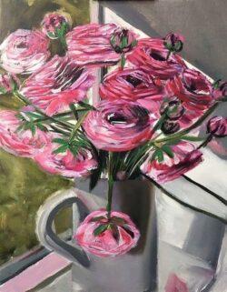 'Ranunculus 1' by Tara Mohammadi