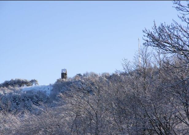 'The Pigeon Tower, Rivington Terraced Gardens, Winter' by David Ruaux