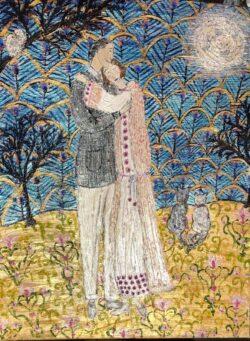'Valentine Moon' by Fiona Marks