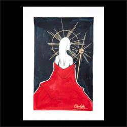 'Religion 2' by Charlotte Woods - Unframed Print