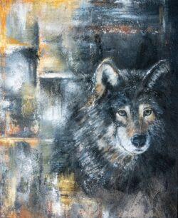 'Urban Packleader' by Helen Worthington