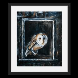 'Urban House Hunter' fine art prints and cards by Helen Worthington