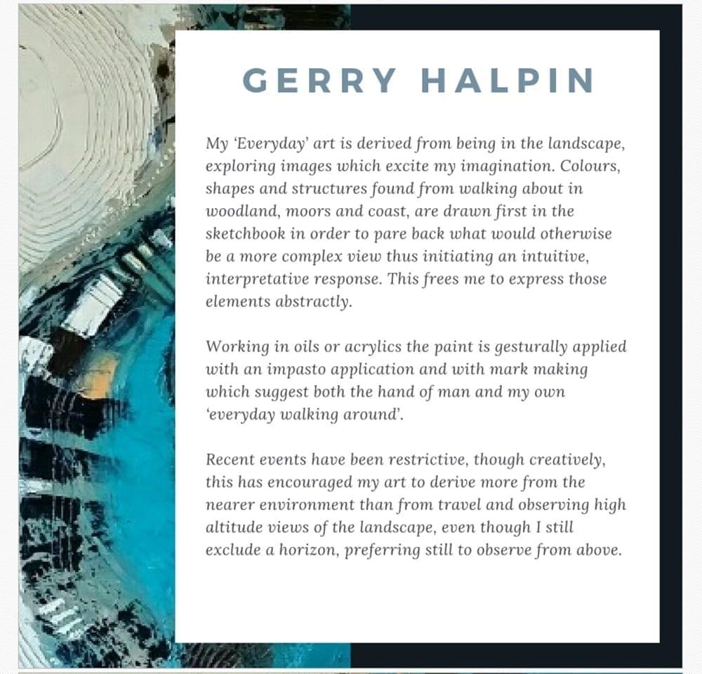 Gerry Halpin's Catalogue Entry