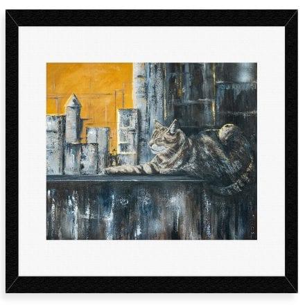 'King of the Urban Jungle' Fine art prints by Helen Worthington